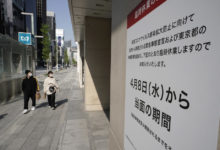 Photo of Opposition to Olympics grows as Japan struggles with pandemic