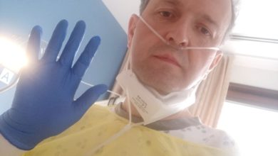 Photo of COVID-19 survivor opens up about his battle with the disease