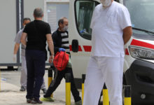 Photo of MoH: 303 patients hospitalized in Skopje COVID centers including 31 new admissions