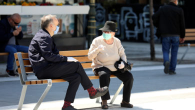Photo of Interior Ministry: 70 isolation orders issued in past 24 hours, 461 people caught without face masks