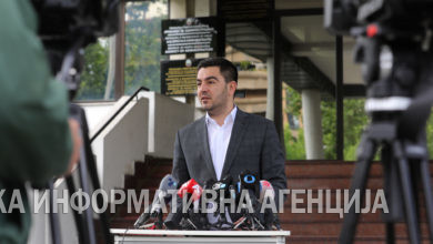 Photo of Economy Minister Kreshnik Bekteshi holds press briefing