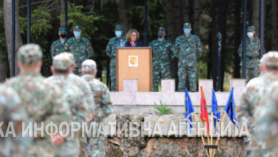 Photo of Shekerinska visits Kichevo barracks