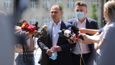 Photo of Minister Filipche: Too early to open borders