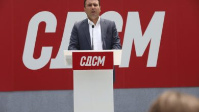 Photo of Zaev: DUI needs to go in opposition