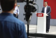 Photo of SDSM's Zaev marks government's three-year anniversary
