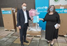 Photo of UNICEF donates ventilators for health facilities