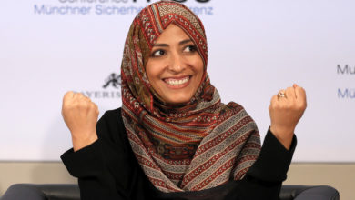 Photo of Controversy over Yemeni Peace Prize winner on Facebook content board