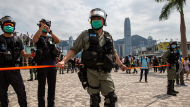 Photo of Hong Kong medicine man first to be charged with inciting secession