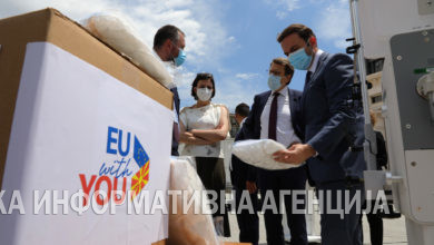 Photo of EU donates final batch of ventilators as part of COVID-19 response efforts