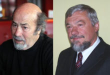 Photo of Poets Mihail Rendzov and Miroslav Bielik win 2020 Literary Scepter award