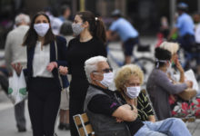 Photo of 593 people fined for violating face mask rule