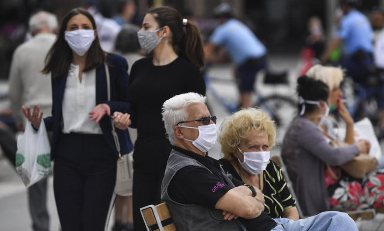 Photo of MoI: 169 people fined for not wearing face masks