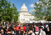 Photo of Washington set for large protests over police brutality