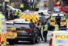 Photo of Scotland police name Glasgow stabbing attacker shot by officers