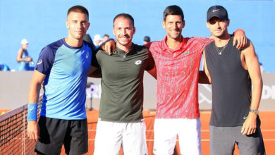 Photo of Covid-19 spreads through Djokovic's Adria Tour participants