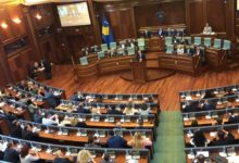 Photo of Kosovo parliament to vote on new government after two-month blockade