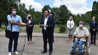 Photo of Zaev: Macedonian future is safe, secure and certain with SDSM