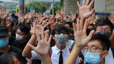 Photo of Dozens arrested in Hong Kong protest against national security law