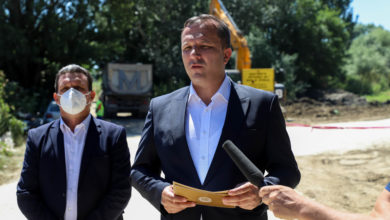 Photo of Spasovski: Over 300 km of stormwater sewage built in three years