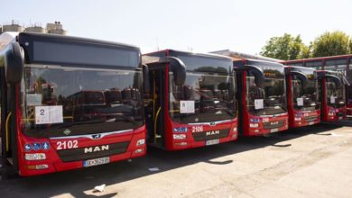 Photo of New eco-friendly CNG buses hit the streets in Skopje
