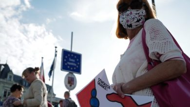 Photo of Protests at Polish plan to exit convention against domestic violence
