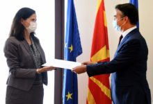 Photo of New German Ambassador presents copies of credentials to FM Dimitrov