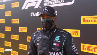 Photo of Hamilton strolls to Styrian Grand Prix win; Ferrari suffer debacle