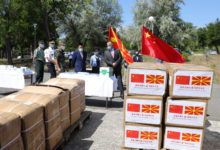 Photo of China donates medical supplies to North Macedonia's Army