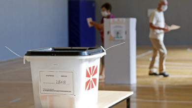 Photo of Polls close in North Macedonia's early parliamentary elections