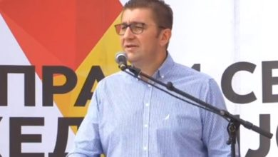 Photo of Mickoski: VMRO-DPMNE has had successful election campaign