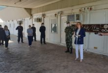 Photo of Defence Minister Shekerinska visits army members at Water Training Center in Ohrid