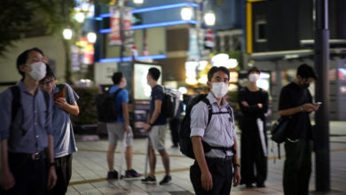 Photo of Tokyo's daily virus caseload hits another record high amid resurgence