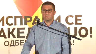 Photo of Mickoski in Delchevo: We got to the point where we can overthrow an anti-national government led by SDSM
