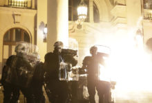 Photo of Protesters in Belgrade break into Serbian parliament