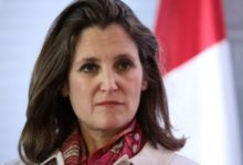 Photo of Trudeau names Chrystia Freeland as Canada's new finance minister