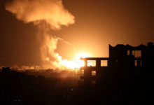Photo of Israeli military targets house of Hamas leader in Gaza