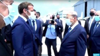 Photo of Received by angry residents, Macron promises to support Lebanon