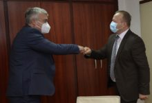 Photo of Interior Minister Nuhiu meets MARRI Regional Centre Director Kocev