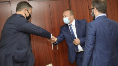 Photo of Interior Minister Nuhiu meets Head of UNODC Programme Office in North Macedonia