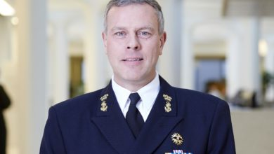 Photo of Commander of Armed Forces of the Netherlands, Admiral Bauer visits North Macedonia