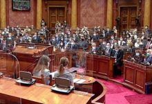 Photo of Serbian parliament reconvenes after troubled election