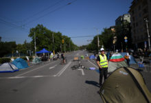 Photo of Bulgarian police clear protest camp blockades in capital
