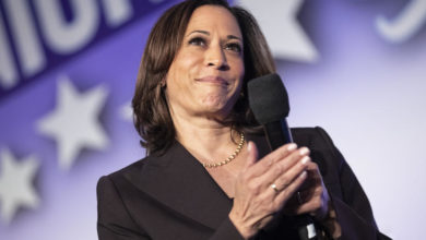 Photo of Harris to be Democrats' first Black woman vice presidential nominee