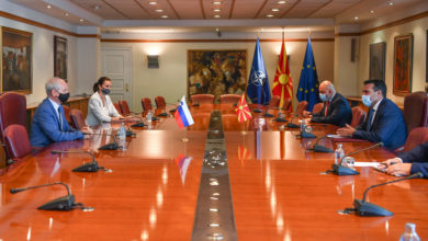 Photo of North Macedonia, Slovenia remain committed to partnership, say Zaev and Predan