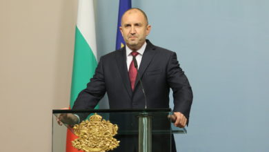 Photo of Bulgarian President Radev urges protesters, police to keep calm