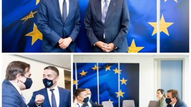 Photo of Dimitrov, Schinas discuss migration affairs, Frontex
