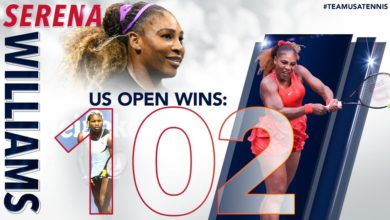 Photo of Serenasets US Open record with Ahn victory in New York