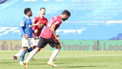 Photo of 100th-minute Fernandes penalty earns United 3-2 win at Brighton