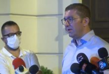 Photo of Mickoski: Central Committee unanimously rejected my proposal for extraordinary party congress
