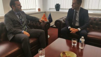 Photo of FM Osmani meets Bulgarian MEP Kovatchev